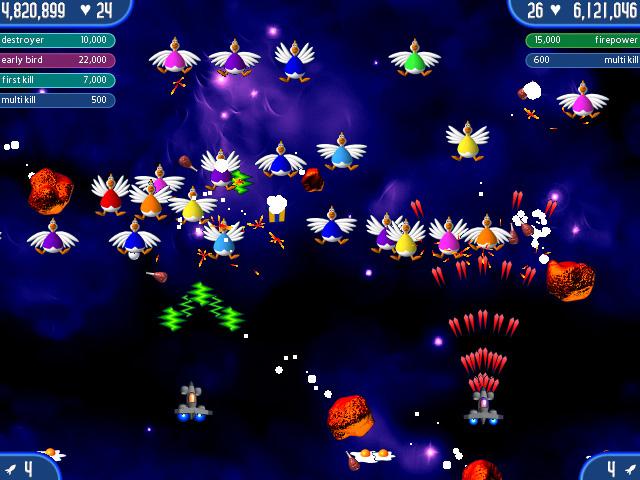 تحميل لعبة الفراخ الجزء الثاني - Chicken Invaders 2: The Next Wave