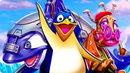 حصرى لعبة   Penguin 100 Cases