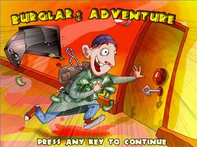 ���� ������ Burglars Adventure