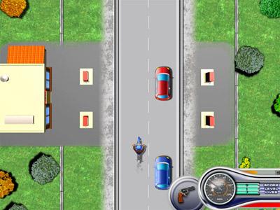 لعبة السائق الغاضب Furious Biker