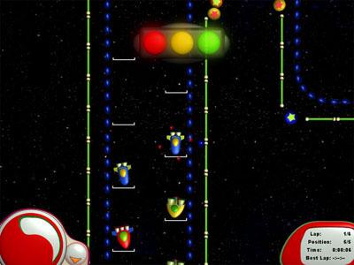 لعبة سباق الفضاء Space Race