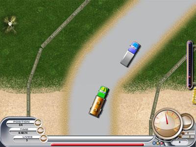 لعبة الشاحنة Racing Trucker