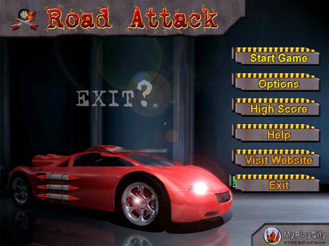 لعبة طريق الهجوم Road Attack