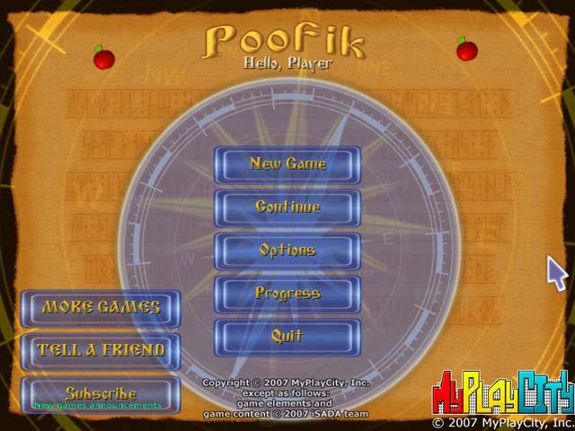لعبة Poofik