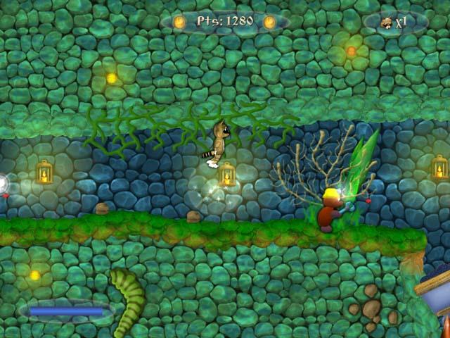 تحميل لعبة Poofik - Scroller Arcade
