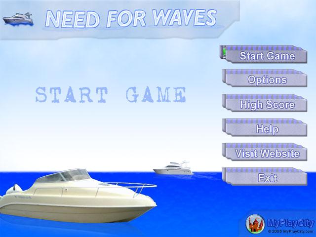 لعبة السفينة Need Waves