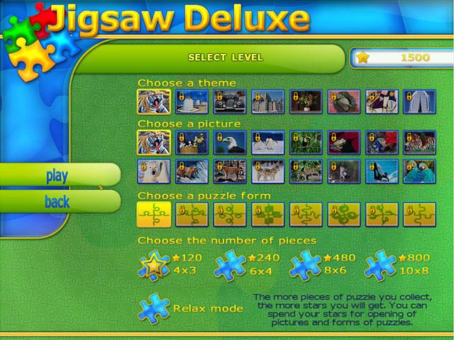 لعبة Jigsaw Deluxe