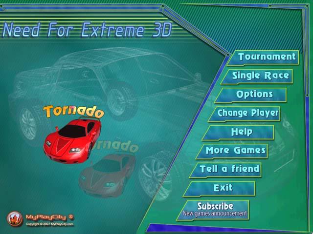 لعبة السيارات Need Ext***e