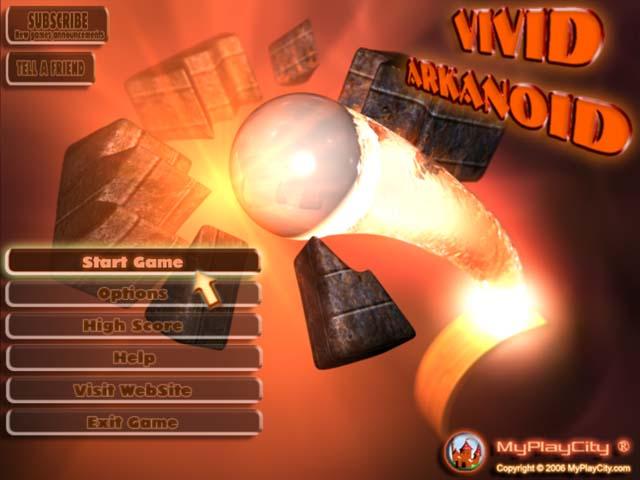 لعبة Vivid Arkanoid
