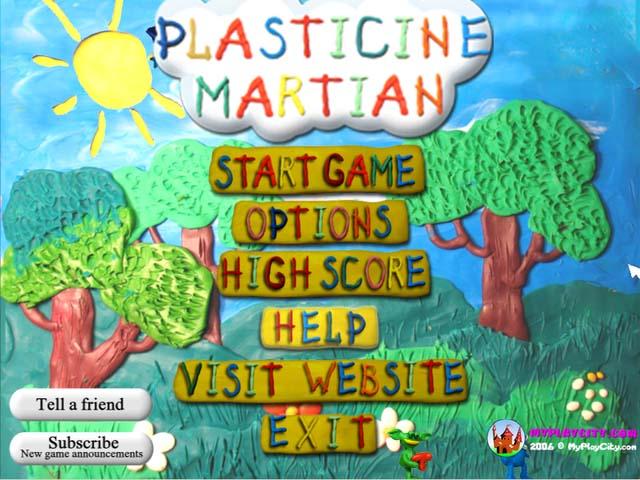 لعبة Plasticine Martian