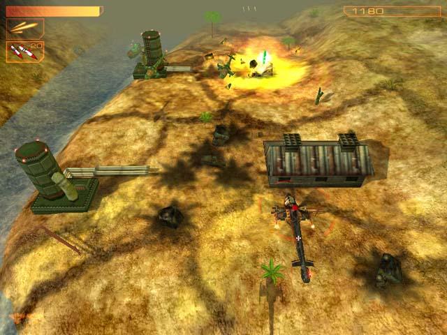 لعبة هليكوبتر Helicopter Game