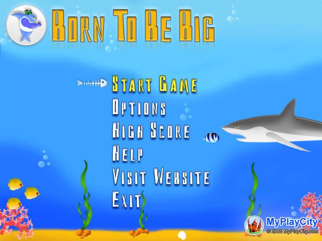 لعبة الاسماك Born