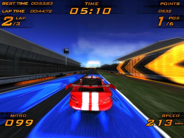 انفراد سباق السيارات Nitro Racers