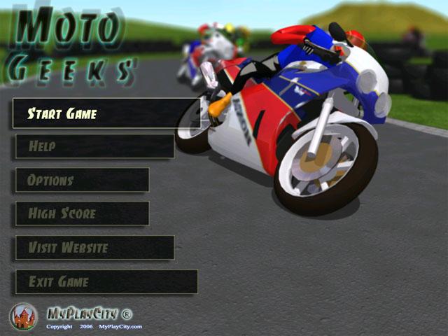juegos de motos. Moto Geeks - Juego de motos