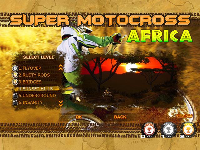 لعبة Super Motocross Africa