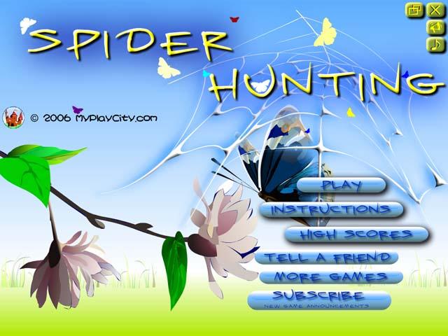 لعبة العنكبوت Spider Hunting