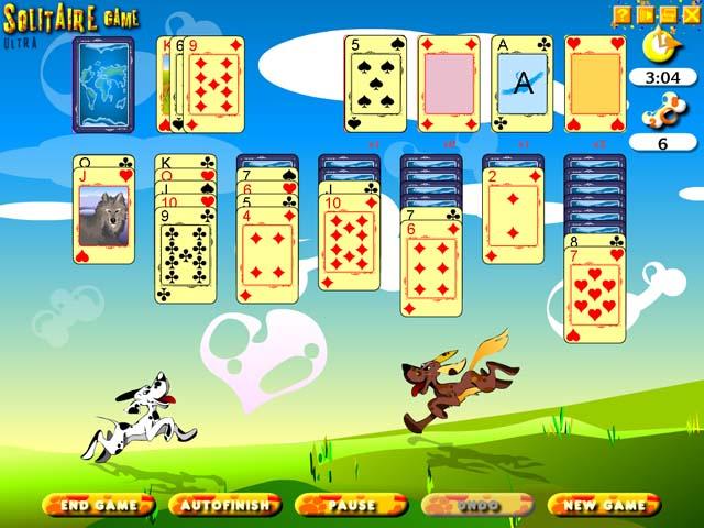 لعبة Solitaire Game Ultra