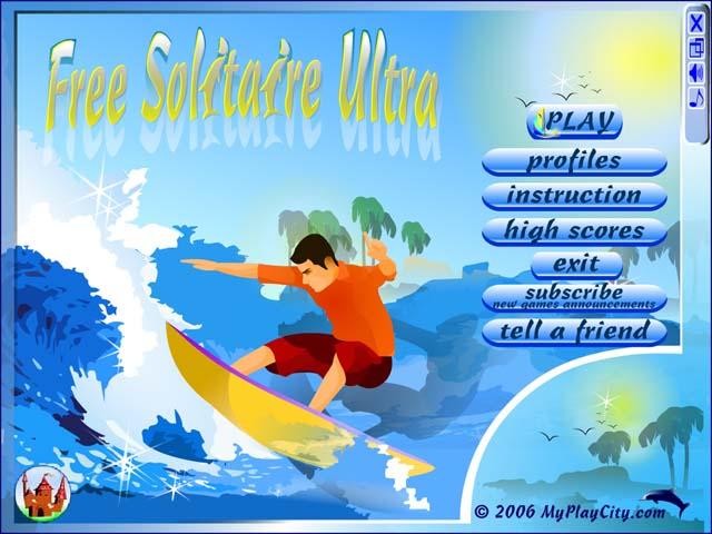 لعبة Free Solitaire Ultra