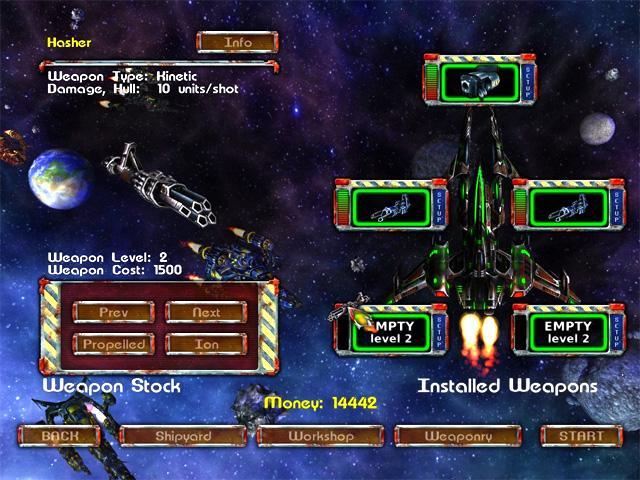 لعبة AstroMenace