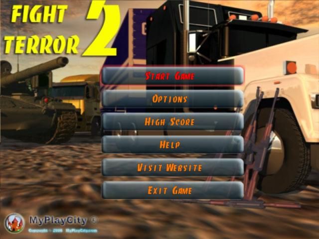 لعبة Fight Terror