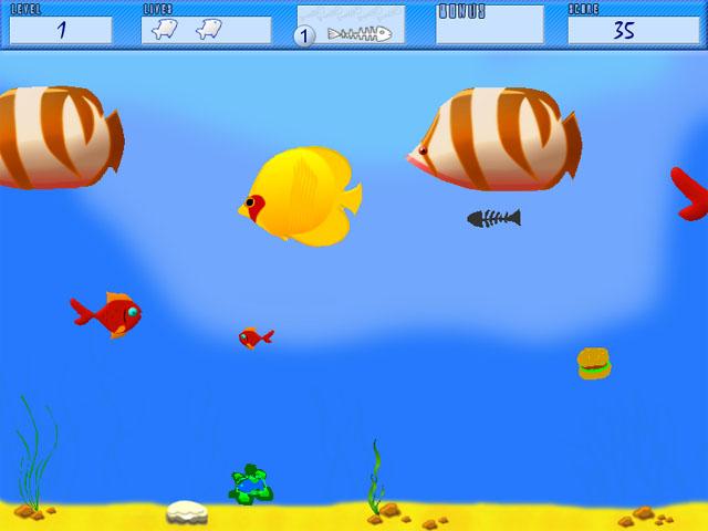 Download garasi games born to be big fish game for Gold fish game