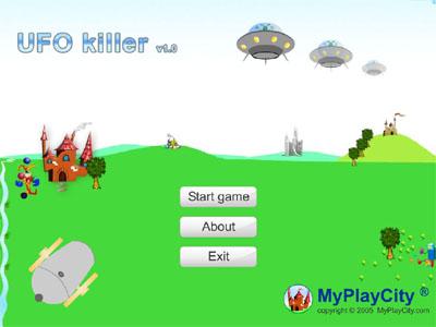 Screenshot of UFO Killer